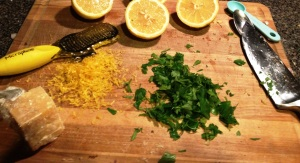 lemon risotto 1