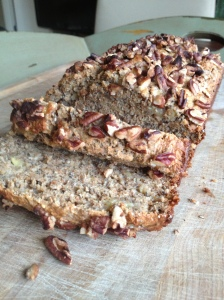 Whole Wheat Banana Bread with ChiaSeeds