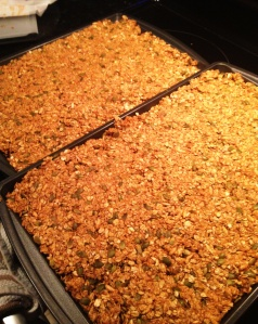is this even serious.... what was I thinking making this much granola
