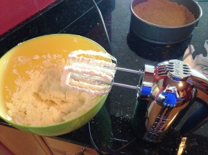 New hand mixer- woohoo