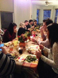 Friendsgiving Feasting