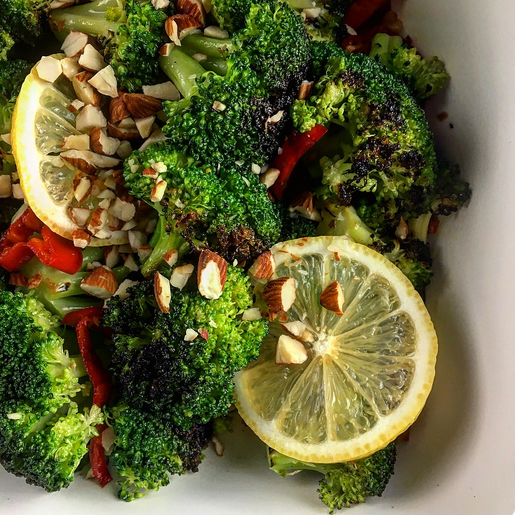 Char Grilled Broccoli With Chili And Garlic Roxana S Kitchen